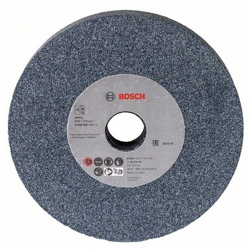 Bosch 1609201649 Grinding wheel for double grinding machine 150mm,20mm,24 - Europa Tools